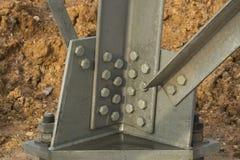 Stahlverbindung Lizenzfreies Stockfoto