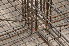 Stahlverstärkung der Grundlage Lizenzfreie Stockfotografie