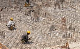 Stahlverstärkung für Boden Lizenzfreie Stockfotos