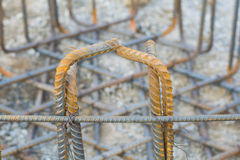 Stahlverstärkungsbeton Lizenzfreie Stockfotografie