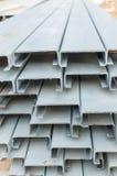 Stahlvorrat Stockfoto