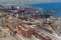Stahlwerk Lizenzfreies Stockbild