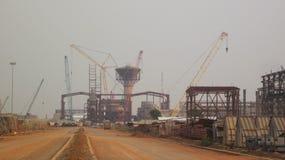 Stahlwerk Stockbilder