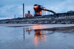 Stahlwerk-Glättung Lizenzfreies Stockfoto