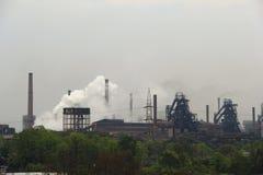 Stahlwerk von Rourkela Stockfotografie
