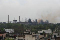 Stahlwerk von Rourkela Lizenzfreie Stockfotos