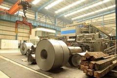 Stahlwerkstatt Lizenzfreies Stockfoto