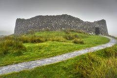 Staigue-Fort auf dem Küstenweg der wilden atlantischen Weise, Grafschaft Kerry, Irland stockbilder