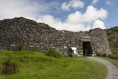 Staigue stone fort Royalty Free Stock Photos