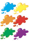 Stain of color 1 Royalty Free Stock Photography