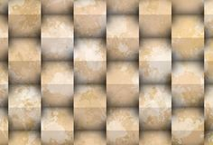 Stain with cubes. Powerful background 3d with visual effect of the shadows.Picture representing purity and solided order Stock Image
