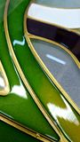 Stained glass detail Royalty Free Stock Photos