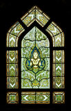 Stain Glass in the Mable Temple Royalty Free Stock Photos