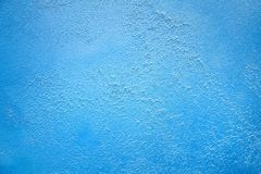 Stain of a paint Venetian bright Blue turquoise marine ice abstract texture background Royalty Free Stock Photography