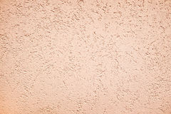 Stain of a paint Venetian delicate yellow brown pastel abstract texture background Stock Images
