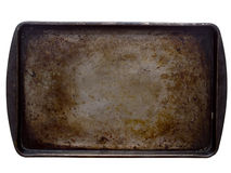 Stained baking tray Stock Image