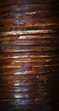 Stained bamboo texture Stock Images