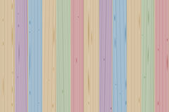 Stained Boards Wooden Colored Wall. Stained boards - colorful wooden wall - vector illustration background Royalty Free Stock Image
