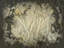 Stained canvas Royalty Free Stock Image