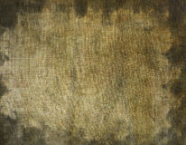Stained canvas Stock Image