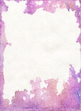 Stained Colorful Watercolor Paper Texture Stock Photography