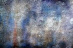 Stained colors textured wallpaper. Blue and white textured abstract wallpaper Stock Photography