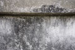 Stained concrete wall texture royalty free stock image