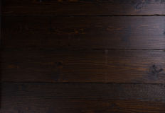 Stained dark wood panel background Stock Image