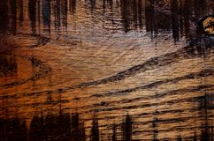 Stained and etched wood abstract background Stock Images