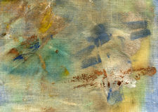 Stained fabric. Abstract background image stock image
