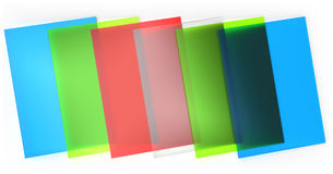 Stained frosted glass Royalty Free Stock Photo
