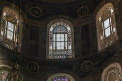 Stained-glass παράθυρα του Hagia Sophia, Ιστανμπούλ Στοκ Εικόνα