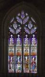 Stained-glass παράθυρο στον καθεδρικό ναό της Σεβίλης, Ισπανία Στοκ εικόνες με δικαίωμα ελεύθερης χρήσης