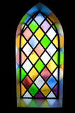 Stained-glass παράθυρο Στοκ Εικόνα