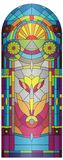 Stained-glass Royalty-vrije Stock Afbeeldingen