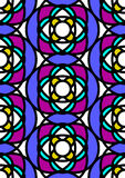 Stained glass vector illustration