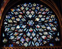 Stained glass. Royalty Free Stock Images