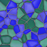 Stained Glass. Seamless Texture Tile Stock Photography