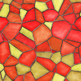 Stained Glass. Seamless Texture Tile Royalty Free Stock Photos