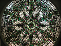 Stained glass. In casa loma Stock Photos