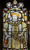 Stained glass. From Bristol cathedral Stock Images
