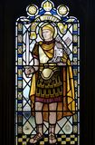 Stained glass. From Bristol cathedral Royalty Free Stock Photo
