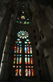 Stained glass. Cathedral Stock Photo