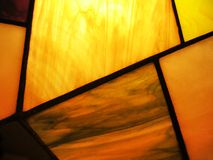 Stained glass abstract. And light background Stock Photography