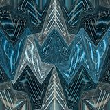 Stained glass abstract triangles background in blue and teal. Stained glass triangles background in blue and teal Royalty Free Illustration