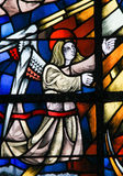 Stained Glass -  Angel Royalty Free Stock Photo