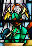 Stained Glass -  Angel Stock Images