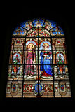 Stained glass art Stock Photography