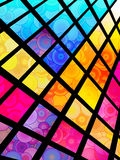 Stained-Glass Background Stock Images