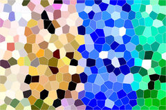 Stained glass background Stock Photography